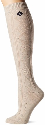 Sperry Women's Fashionable Warm Soft & Cozy Long Knee High Socks