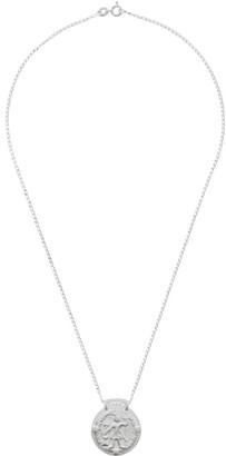 Dear Letterman SSENSE Exclusive Silver Ziya Pendant Necklace