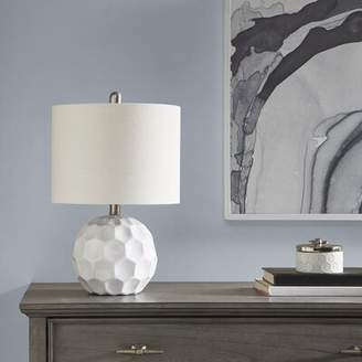 "Bayaud 19.5"" Table Lamp Brayden Studio Base Color: White"