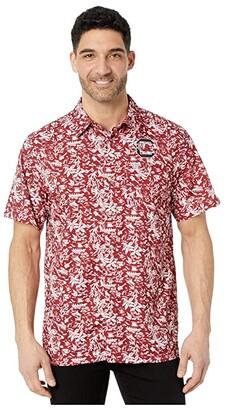 Columbia College South Carolina Gamecocks CLG Super Slack Tidetm Shirt (Beet) Men's Clothing