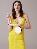 Diane von Furstenberg V-Neck Tailored Midi Dress