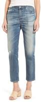 AG Jeans Women's Isabelle High Waist Straight Leg Crop Jeans