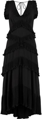 Zimmermann Pleated Ruffle Dress