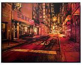 Pell Street by Logan Hicks (Hand-Sprayed Multiple Aerosol)