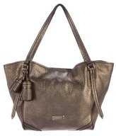 Burberry Metallic Grained Leather Tote