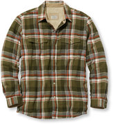 L.L. Bean Men's Sherpa-Lined Shirt-Jac, Slightly Fitted