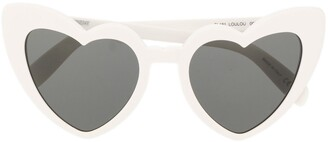 Saint Laurent Eyewear Heart Sunglasses