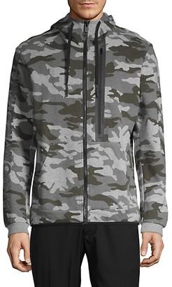 Antony Morato Camouflage Fleece Hooded Jacket