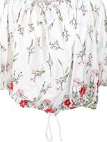 Marques Almeida Marques'Almeida Floral Off Shoulder Blouse