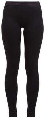 Falke Vision High-rise Performance Leggings - Black