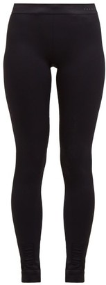 Falke Vision High Rise Performance Leggings - Womens - Black