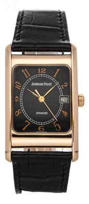 Audemars Piguet Black Pink gold Watches