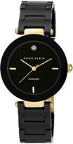 Anne Klein Women's Round Ceramic Bracelet Watch, 33Mm