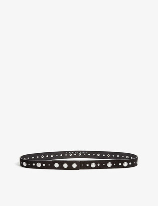 Claudie Pierlot Avegas studded leather belt