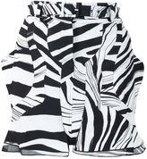 Roberto Cavalli pattern skirt - women - Elastodiene/Viscose - 38
