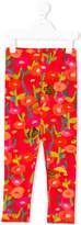 Oilily fllower and hedgehog print leggings