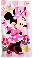 Disney Minnie Mouse Happy Helpers Beach Towel - Personalizable