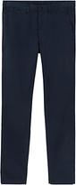 Jigsaw Cotton Garment Dye Slim Trousers