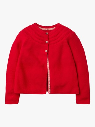 Boden Girls' Cotton Cashmere Cardigan