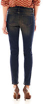 JCPenney a.n.a Destroyed Boyfriend Skinny Jeans