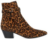 Saint Laurent West Buckle Strap Ankle Boots
