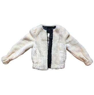 Compagnia Italiana Ecru Faux fur Jackets