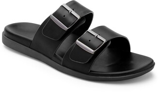 Vionic Charlie Buckle Slide Sandal