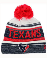 New Era Houston Texans Snow Dayz Knit Hat, A Macy's Exclusive Style