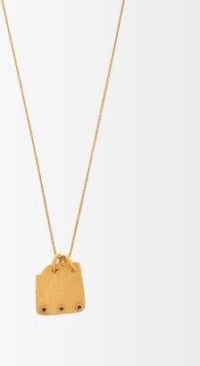 Eli Halili - Ruby & Gold Pendant Necklace - Womens - Gold