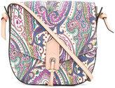 Etro paisley print saddle bag - women - Cotton/Calf Leather/Nylon/PVC - One Size