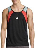 Lotto Short-Sleeve Jersey Mesh Tank Top