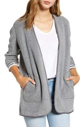 Vineyard Vines Sweater Fleece Open Front Jacket