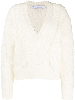 IRO Chunky Cable-Knit Jumper