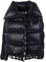 Hache Checked Down Jacket