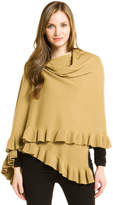 Portolano Women's Nile Brown Cashmere Wrap