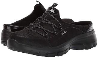 Skechers Easy Going - Kizer (Black/Black) Women's Clog Shoes