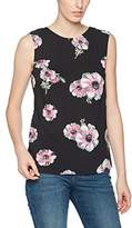 Warehouse Women's Ocean Floral Tie Back Vest Top
