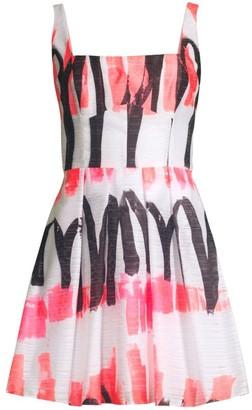 Milly Camilla Printed Mini Dress