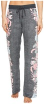 PJ Salvage Floral Lounge Pants Women's Casual Pants