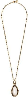 Alexander McQueen Gold-Tone Pearl Necklace