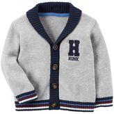 "Carter's Baby Boy Hunk"" Knit Cardigan"