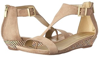 Kenneth Cole Reaction Great Gal (Cafe Microsuede) Women's Sandals