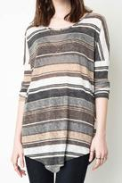 Hayden Casual Striped Tunic