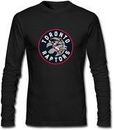 Yang Men's Toronto Raptors Vince Carter Drunk Long Sleeve T Shirt L