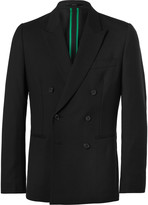 Paul Smith Black Soho Slim-Fit Double-Breasted Wool Suit Jacket