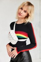 Urban Outfitters Rainbow Canvas Belt Bag