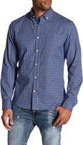 Slate & Stone Regular Fit Long Sleeve Button Pattern Shirt