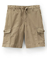 Classic Boys Pull-On Beach Cargo Shorts-Blue Pewter,2T
