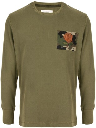 Kent & Curwen long sleeved cotton T-shirt
