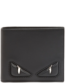 Fendi Bag Bugs leather wallet